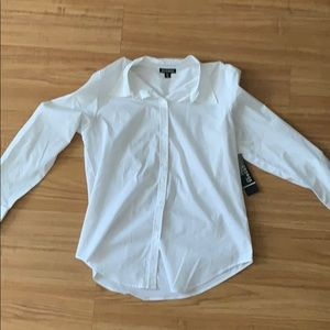 White button up dress shirt - George - S 4-6